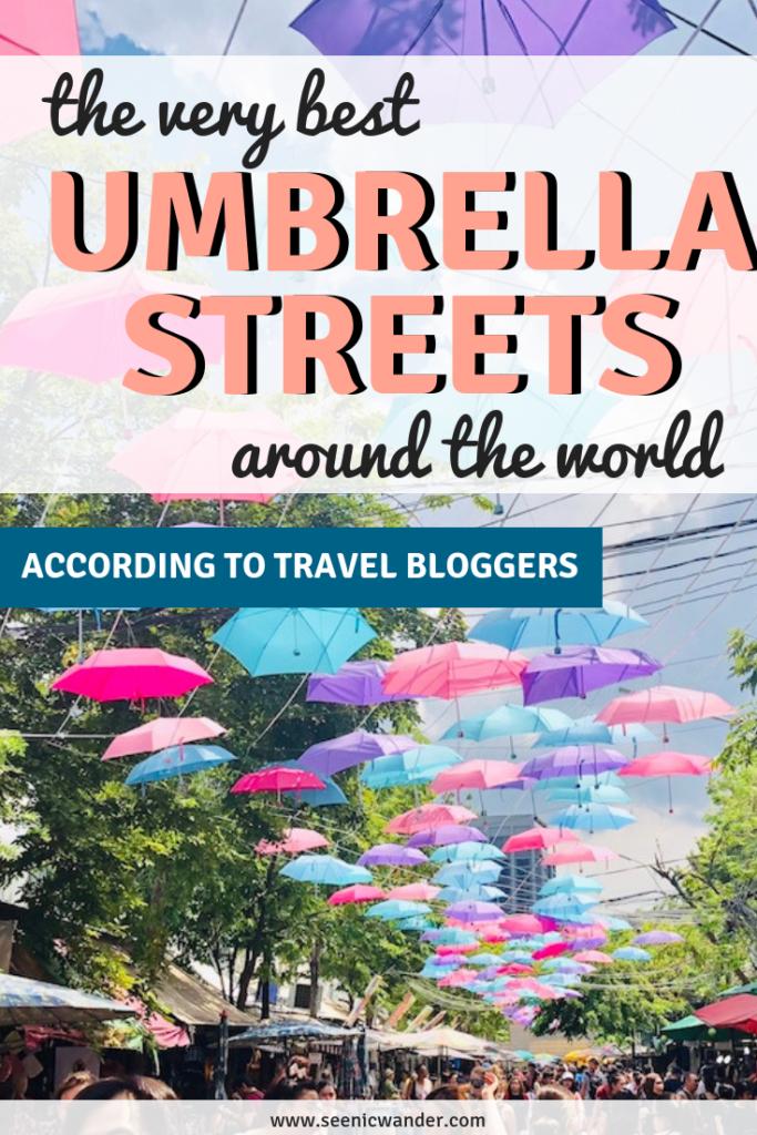 Best Umbrella Streets Around the World - According to Travel